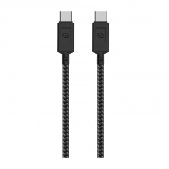 Cable USB Tipo-C a USB Tipo- C 3.2 Dusted Negro