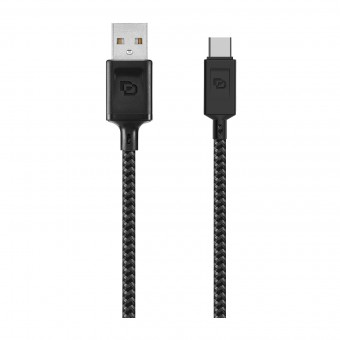 Cable USB a USB Tipo-C 3.2 Dusted Negro