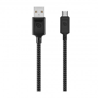 Cable USB a Micro USB Dusted Negro
