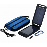 Kit panel solar con Bateria de 3.500 mAh salida 5 Volts Power Traveller 2